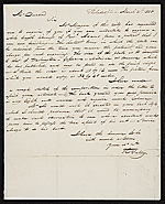 Thomas Sully, Philadelphia, Pa. letter to Asher Brown Durand, New York, N.Y.