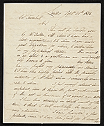 Samuel Waldo, London, England letter to John Trumbull, New York, N.Y.