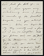 [Harry W. (Harry Willson) Watrous, New York, N.Y. letter to Thomas B. (Thomas Benedict) Clarke 1]