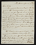 William Edward West, New Orleans, La. letter to unidentified recipient