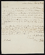 Benjamin West letter to William Rawle