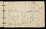 [Palmer Hayden sketchbook of New York and Paris sketchbook page 14]