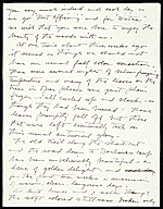 [Paul Bransom letter to Kicki Hays ]