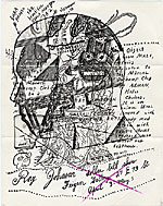 Ray Johnson mail art to John Held