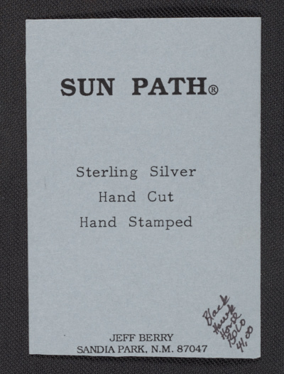 Sun Path business card