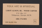 Leroy Almon, Sr.s business card