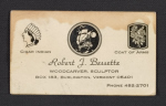 Robert J. Bessettes business card