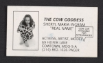 Sheryl Maria Ingrams business card