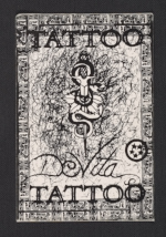 Newburgh Tattoo business card