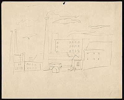 [Sketch of an industrial scene]