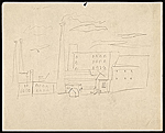 Sketch of an industrial scene