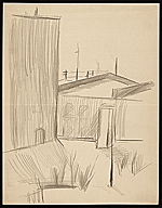 Sketch of a building