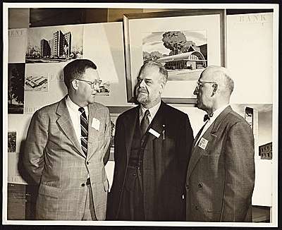 S. Lane Faison, Henry-Russell Hitchcock, and Karl Staley
