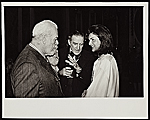 Henry-Russell Hitchcock, Brendan Gill, and Jacqueline Onassis