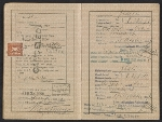 [Walter Horn's passport pages 4]