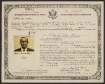 [Walter Horn's certificate of naturalization ]
