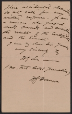 [Harriet Goodhue Hosmer letter to Sir James 2]