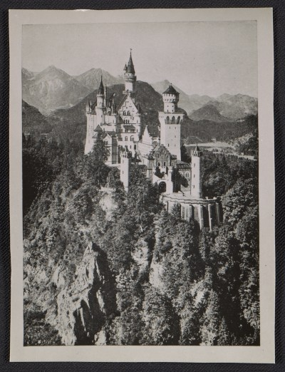 [View of Neuschwanstein castle]