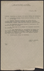 Harry V. Anderson inventory and receipt for Hermann Göring art collection submitted to Commanding General, 101st Airborne Division