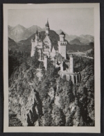 View of Neuschwanstein castle