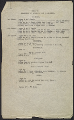 [Inventory of Hermann Göring art collection at Unterstein, Germany page 1]