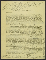 Thomas Carr Howe draft letter to Edith Appleton Standen