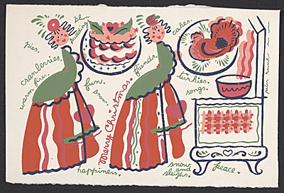 Christmas card by Peter Hunt