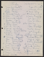 [Robert Richman draft telegram and list of notable Americans in the arts and sciences for President-elect John F. Kennedy page 3]