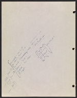 [Robert Richman draft telegram and list of notable Americans in the arts and sciences for President-elect John F. Kennedy verso 3]