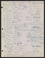 [Robert Richman draft telegram and list of notable Americans in the arts and sciences for President-elect John F. Kennedy page 4]