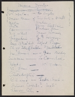 [Robert Richman draft telegram and list of notable Americans in the arts and sciences for President-elect John F. Kennedy page 5]