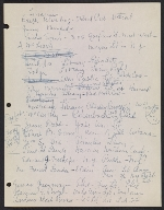 [Robert Richman draft telegram and list of notable Americans in the arts and sciences for President-elect John F. Kennedy page 7]