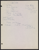 [Robert Richman draft telegram and list of notable Americans in the arts and sciences for President-elect John F. Kennedy page 8]