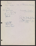 [Robert Richman draft telegram and list of notable Americans in the arts and sciences for President-elect John F. Kennedy page 9]