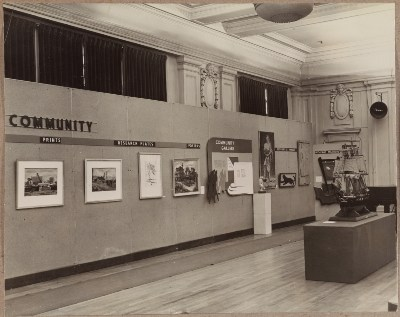 [Photographs of the Washington State WPA Art Project]
