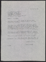 Leroy Ireland letter to William H. Truettner