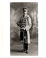 [Walter Gropius as a cadet in the Fifteenth Hussar Regiment, Wandabeck]