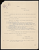 C. Hofstede de Groot, The Hague, Netherlands letter to unidentified recipient