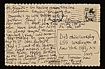 [Michael Lucero postcard to Daniel Jacobs, New York, N.Y. 1]