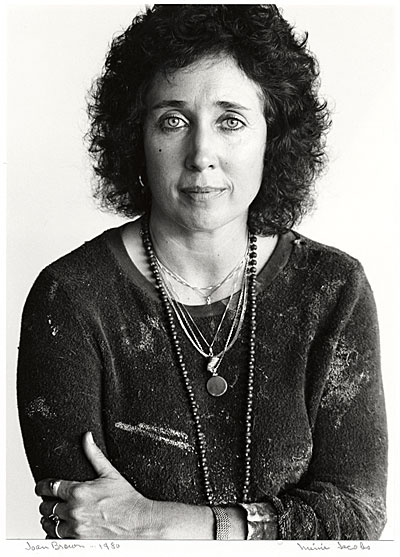 [Joan Brown]