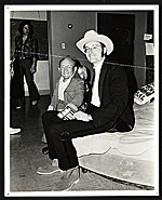 Jimmy Jalapeeno with Billy Barty