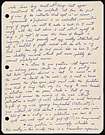 [Peter Saul, Mill Valley, Calif. letter to Ellen H. Johnson 1]