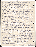 [Peter Saul, Mill Valley, Calif. letter to Ellen H. Johnson 2]