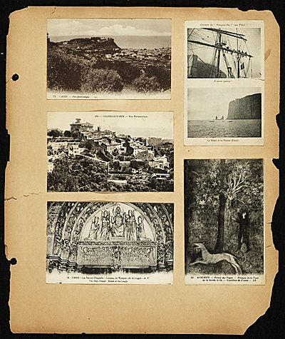 [Postcard album with images of Cagnes- Sur- Mer- Vue Panoramique]