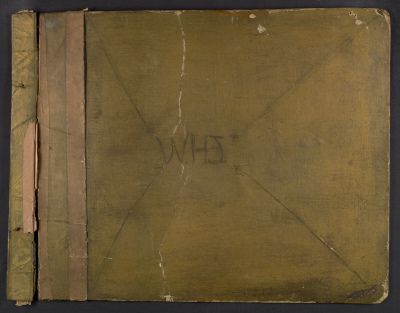 [William H. Johnson scrapbook]