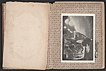[Robert Edward Duncan and Jess Collins scrapbook for Patricia Jordan pages 2]