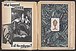 [Robert Edward Duncan and Jess Collins scrapbook for Patricia Jordan pages 4]