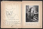 [Robert Edward Duncan and Jess Collins scrapbook for Patricia Jordan pages 7]