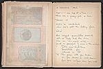 [Robert Edward Duncan and Jess Collins scrapbook for Patricia Jordan pages 16]