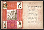 [Robert Edward Duncan and Jess Collins scrapbook for Patricia Jordan pages 22]